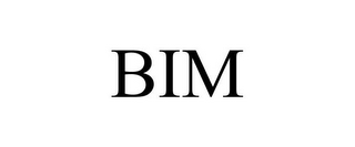 mark for BIM, trademark #78874011