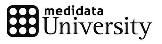 mark for MEDIDATA UNIVERSITY, trademark #78874793