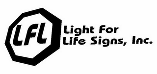 mark for LFL LIGHT FOR LIFE SIGNS, INC., trademark #78875244