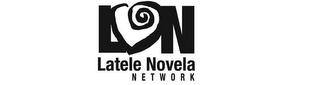 mark for LN LATELE NOVELA NETWORK, trademark #78875533