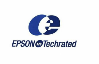 mark for E EPSON IN TECHRATED, trademark #78875553