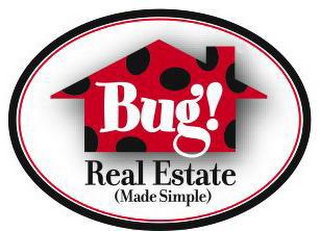 mark for BUG! REAL ESTATE (MADE SIMPLE), trademark #78877157