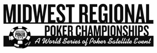 mark for MIDWEST REGIONAL POKER CHAMPIONSHIPS A WORLD SERIES OF POKER SATELLITE EVENT, trademark #78877197