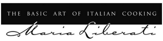mark for THE BASIC ART OF ITALIAN COOKING MARIA LIBERATI, trademark #78877415
