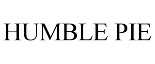 mark for HUMBLE PIE, trademark #78877610