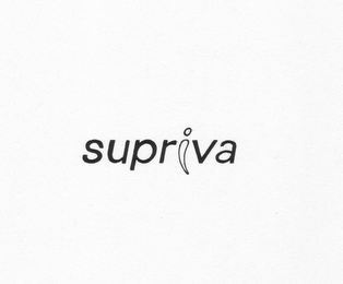 mark for SUPRIVA, trademark #78877691