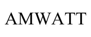 mark for AMWATT, trademark #78879465