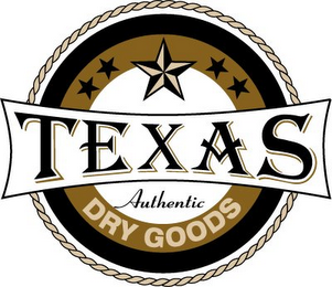 mark for TEXAS AUTHENTIC DRY GOODS, trademark #78880230