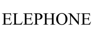 mark for ELEPHONE, trademark #78881468