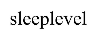 mark for SLEEPLEVEL, trademark #78882510