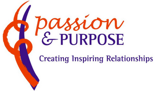 mark for PASSION & PURPOSE CREATING INSPIRING RELATIONSHIPS, trademark #78883809