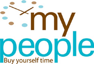 mark for MY PEOPLE BUY YOURSELF TIME, trademark #78883934