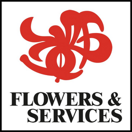 mark for FLOWERS & SERVICES, trademark #78884304