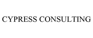 mark for CYPRESS CONSULTING, trademark #78884632