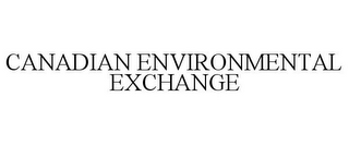 mark for CANADIAN ENVIRONMENTAL EXCHANGE, trademark #78884885