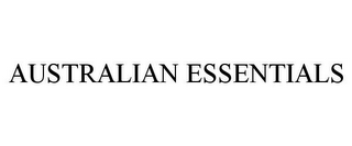 mark for AUSTRALIAN ESSENTIALS, trademark #78885910