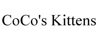 mark for COCO'S KITTENS, trademark #78886320