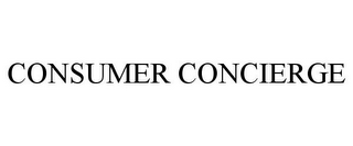mark for CONSUMER CONCIERGE, trademark #78887589