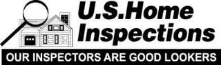 mark for U.S. HOME INSPECTIONS OUR INSPECTORS ARE GOOD LOOKERS, trademark #78889410