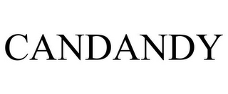 mark for CANDANDY, trademark #78890048