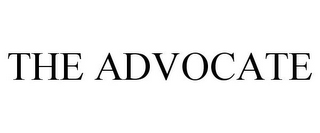 mark for THE ADVOCATE, trademark #78890581