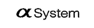 mark for A SYSTEM, trademark #78890820