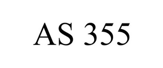 mark for AS 355, trademark #78891882