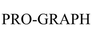 mark for PRO-GRAPH, trademark #78891890