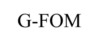 mark for G-FOM, trademark #78892265