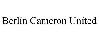 mark for BERLIN CAMERON UNITED, trademark #78892373