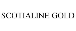 mark for SCOTIALINE GOLD, trademark #78892737