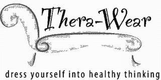 mark for THERA-WEAR DRESS YOURSELF INTO HEALTHY THINKING, trademark #78893913