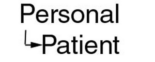 mark for PERSONAL PATIENT, trademark #78894118