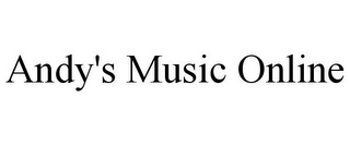 mark for ANDY'S MUSIC ONLINE, trademark #78894520
