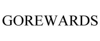 mark for GOREWARDS, trademark #78894673
