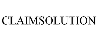 mark for CLAIMSOLUTION, trademark #78895970