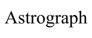 mark for ASTROGRAPH, trademark #78896807
