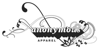 mark for ANONYMOUS APPAREL, trademark #78898516