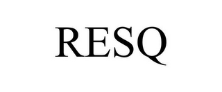 mark for RESQ, trademark #78899095