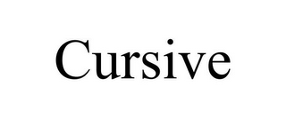 mark for CURSIVE, trademark #78900194