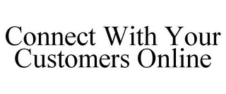 mark for CONNECT WITH YOUR CUSTOMERS ONLINE, trademark #78900971