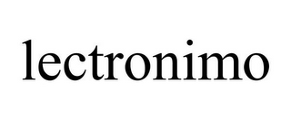 mark for LECTRONIMO, trademark #78902421