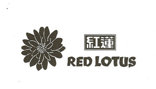mark for RED LOTUS, trademark #78902840