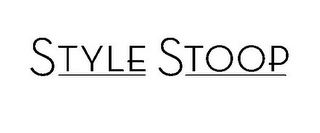 mark for STYLE STOOP, trademark #78904322