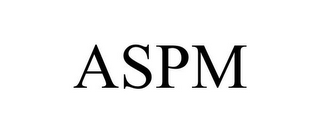 mark for ASPM, trademark #78904557