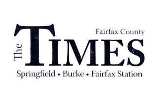 mark for THE TIMES FAIRFAX COUNTY SPRINGFIELD · BURKE · FAIRFAX STATION, trademark #78904631