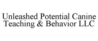 mark for UNLEASHED POTENTIAL CANINE TEACHING & BEHAVIOR LLC, trademark #78904847