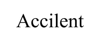 mark for ACCILENT, trademark #78906826