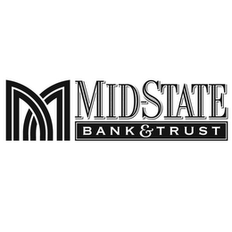 mark for M MID-STATE BANK & TRUST, trademark #78907450