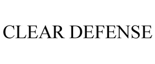 mark for CLEAR DEFENSE, trademark #78907808